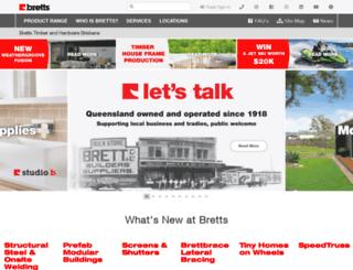 bretts.com.au screenshot