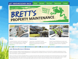 brettspm.com.au screenshot