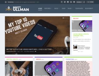 brettullman.com screenshot