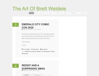 brettweldele.com screenshot