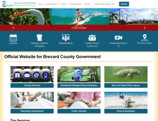 brevardcounty.us screenshot