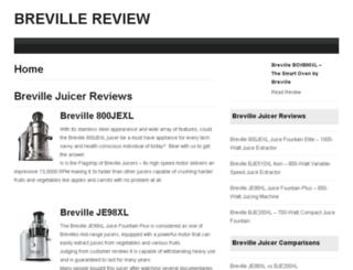 brevillereview.net screenshot
