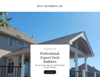 brewcitybuilders.com screenshot