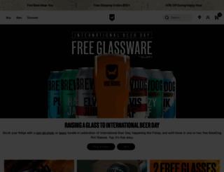 brewdog.com screenshot