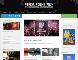 brewdrinkrun.com screenshot