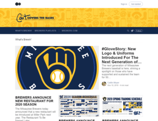 brewers.mlblogs.com screenshot