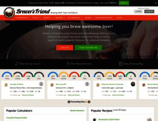 brewersfriend.com screenshot