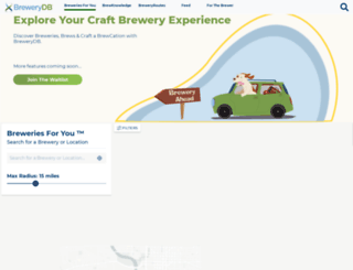 brewerydb.com screenshot