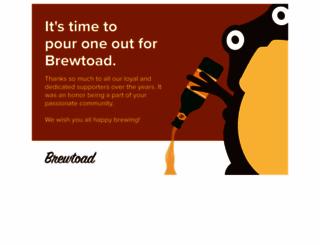 brewtoad.com screenshot