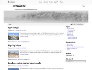 brewzone.com screenshot