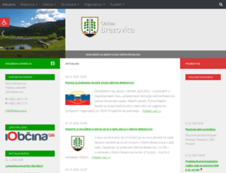 brezovica.si screenshot