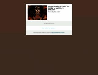 brian-pulidos-new-graphic-novel-la-muerta-1-descen.backerkit.com screenshot