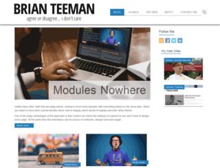 brian.teeman.net screenshot