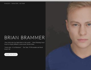 brianbrammer.com screenshot