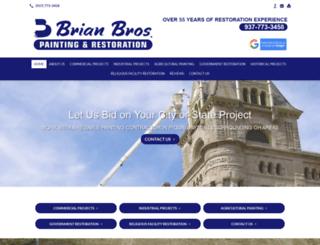 brianbrospainting.com screenshot
