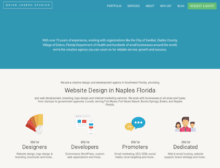 brianjosephstudios.com screenshot