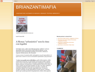 brianzantimafia.blogspot.com screenshot