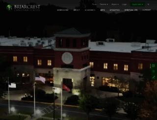 briarcrest.com screenshot