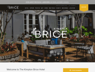 bricehotel.com screenshot