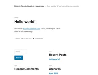 briciolefavole.com screenshot