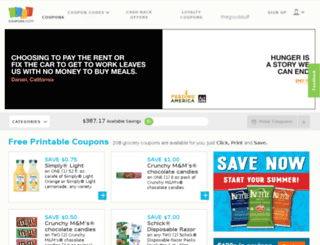 bricks.coupons.com screenshot