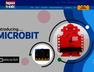 bricks4kidz.com screenshot