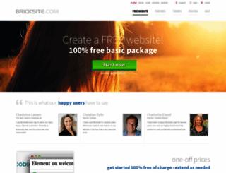 bricksite.com screenshot