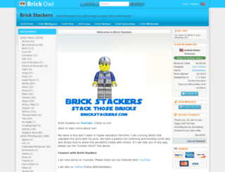 brickstackers.brickowl.com screenshot