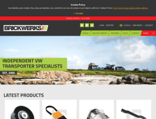 brickwerks.co.uk screenshot