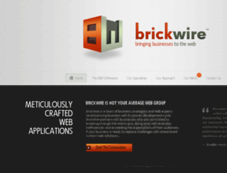 brickwire.com screenshot