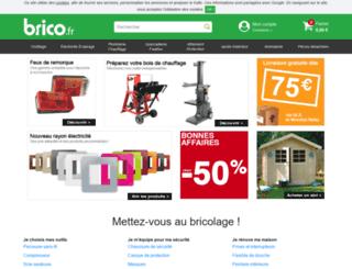 brico.fr screenshot