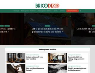 bricodeco.fr screenshot