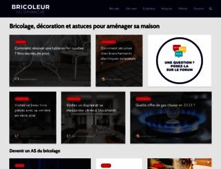 bricoleurdudimanche.com screenshot