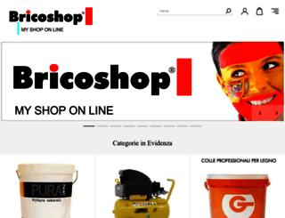 bricoshop.it screenshot