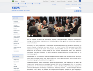 brics6.itamaraty.gov.br screenshot