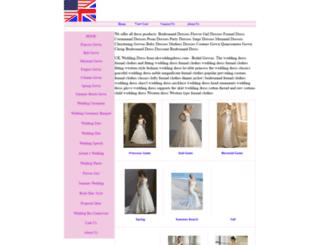 bridalgowndress.com screenshot
