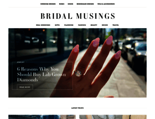 bridalmusings.com screenshot