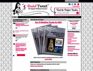 bridaltweet.com screenshot