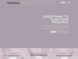 brideaccess.com screenshot