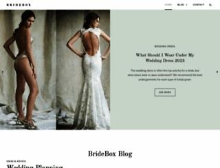 bridebox.com screenshot