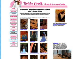 bridecraft.com screenshot