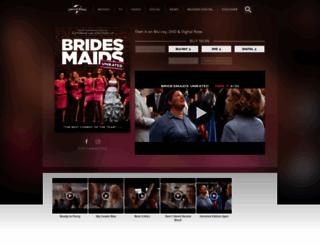 bridesmaidsmovie.com screenshot