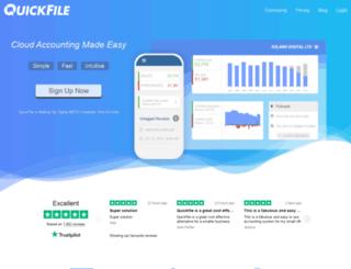 bridezuki.quickfile.co.uk screenshot