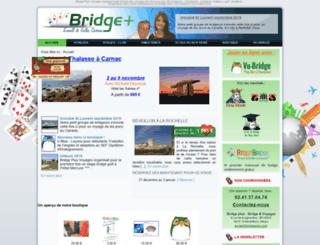 bridge-plus-voyage.fr screenshot