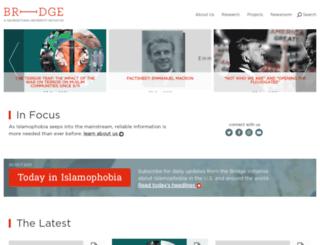 bridge.georgetown.edu screenshot