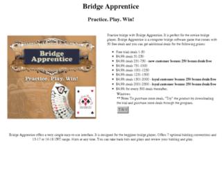 bridgeapprentice.com screenshot