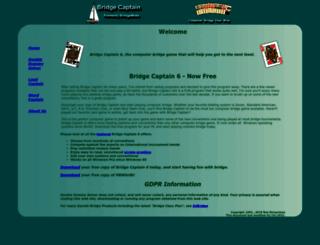 bridgecaptain.com screenshot