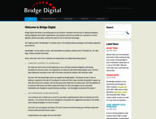 bridgedigital.net screenshot