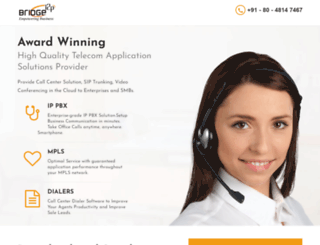 bridgei2p.com screenshot