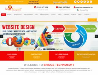 bridgetechnosoft.com screenshot